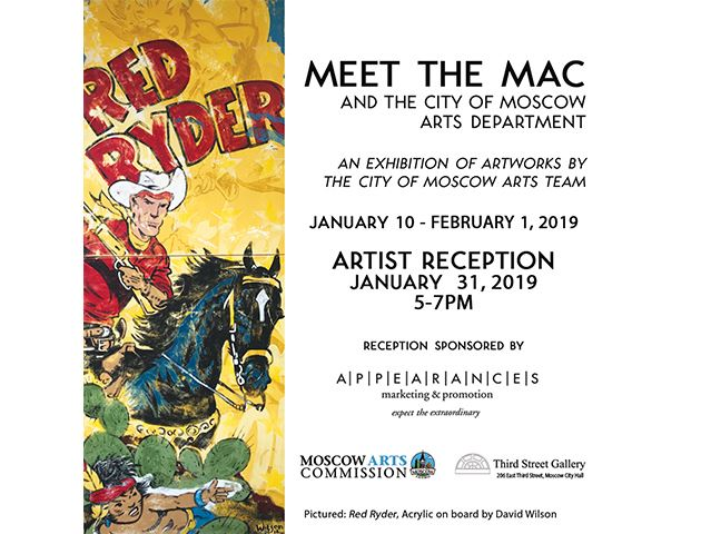 Promotional image for Meet the MAC and the Arts Department