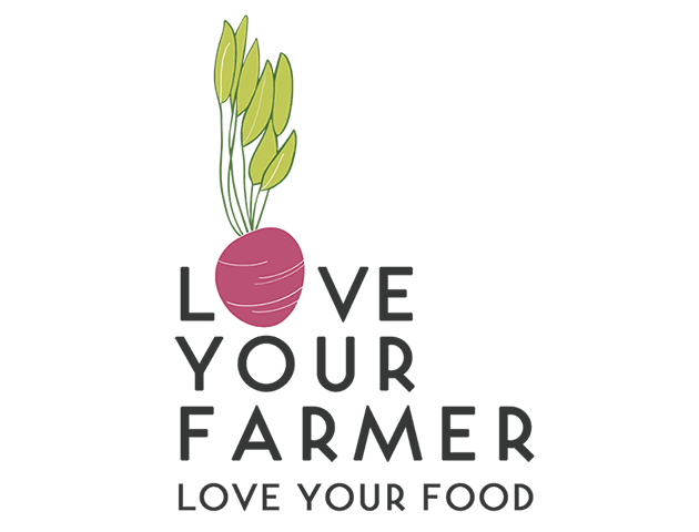 Logo for Love Your Farmer, Love Your Food