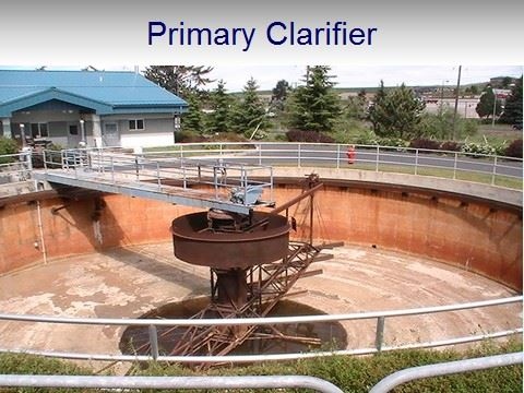 WWTP Primary Clarifier