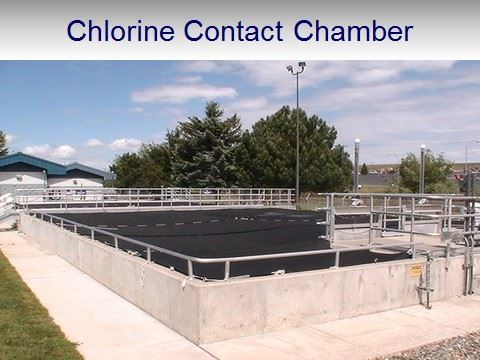WWTP Chlorine Contact Chamber