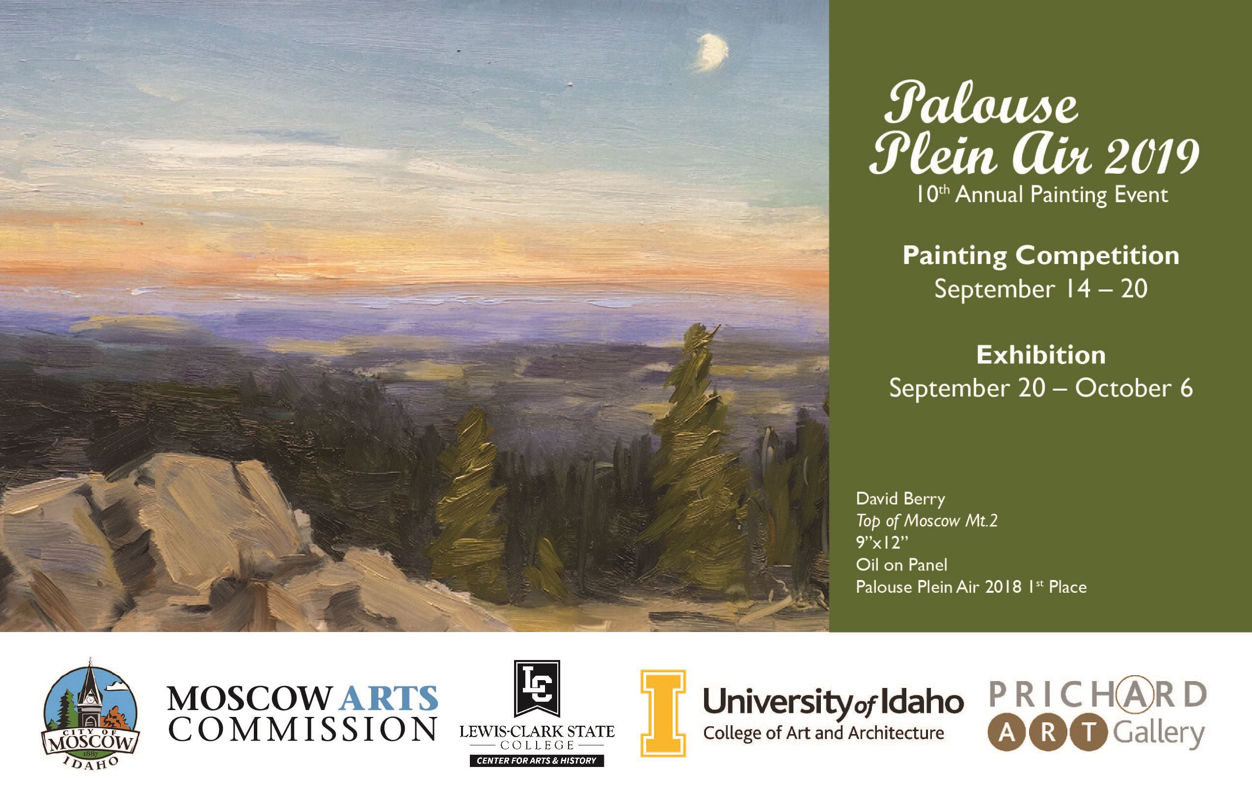 Promotional image for Palouse Plein Air 2019