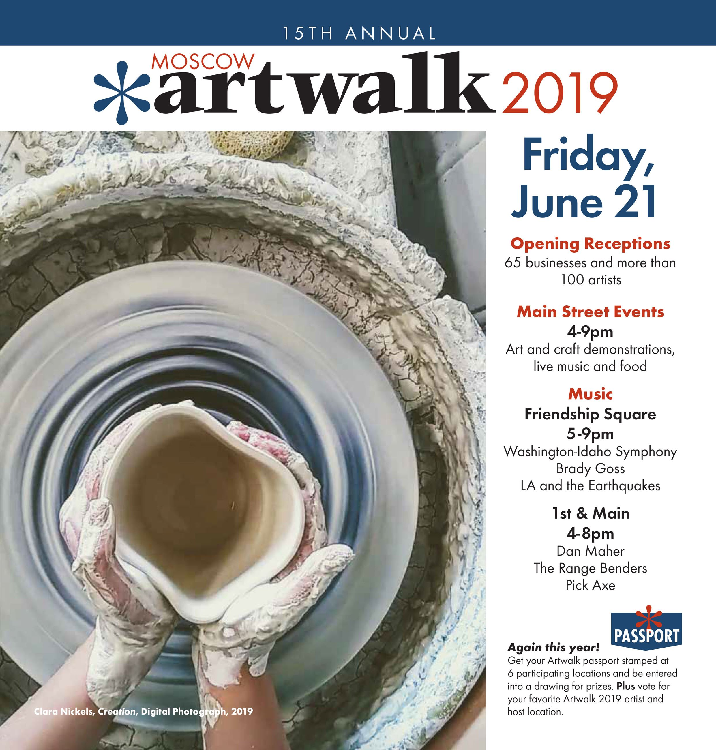 Image of the Artwalk 2019 Brochure Cover