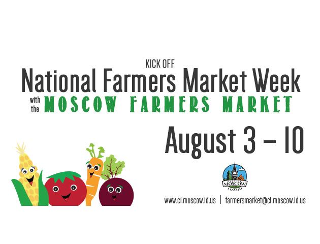 National Farmers Market Week Promotional Image