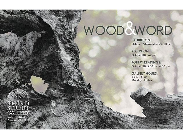 "Promotion Image for ""Wood & Word"""