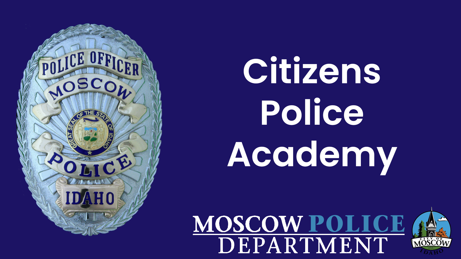 Citizens Police Academy title