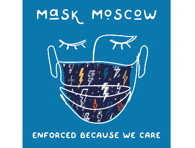 Mask Moscow Graphic