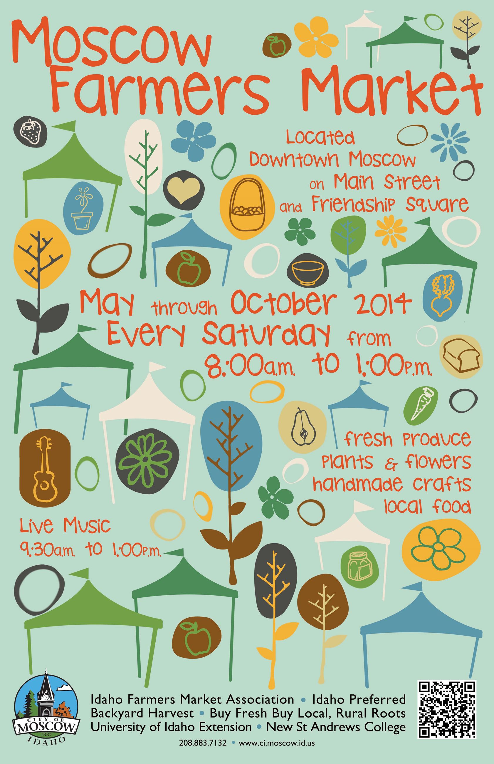 Market Poster 2014 - by Carrie Lynn Kyser