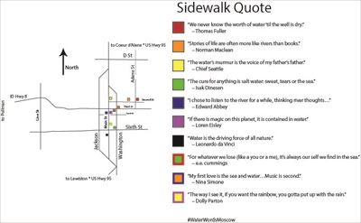 Sidewalk Quotes Map