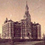 Old UI Admin Building 1895