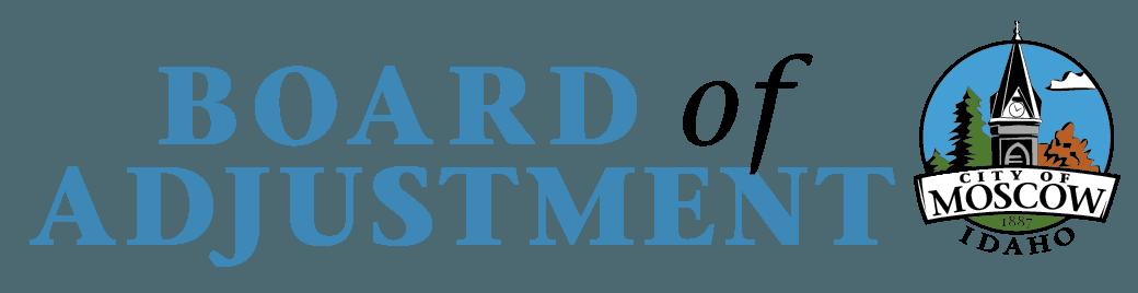 Board of Adjustment logo - Blue