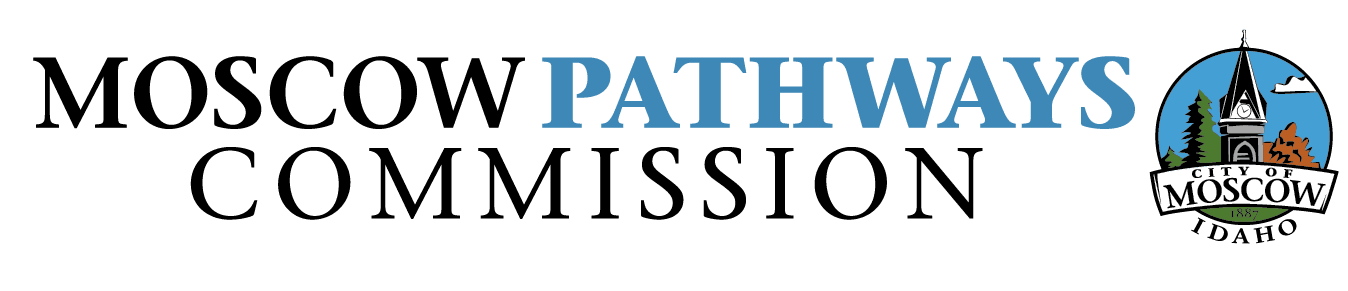 Moscow Pathways Commission logo - Blue