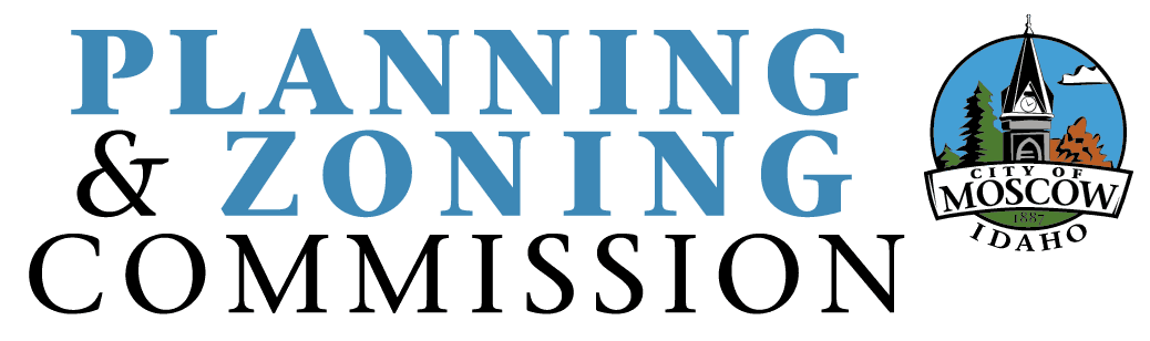 Planning and Zoning Commission logo - Blue