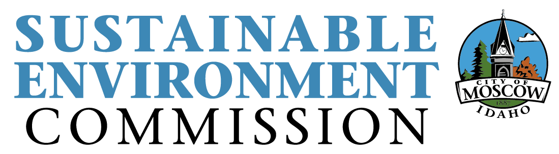 Sustainable Environment Commission logo - Blue