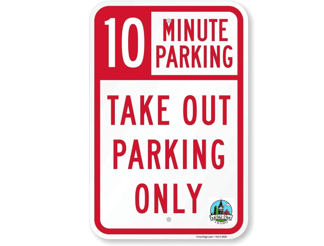 Take-Out-Sign-Image